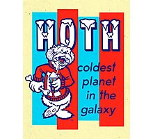 HOTH: COLDEST IN THE GALAXY Photographic Print