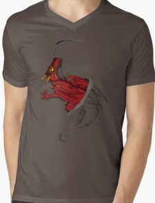Sir, there appears to be a dragon in your shirt [Dark ver] Mens V-Neck T-Shirt