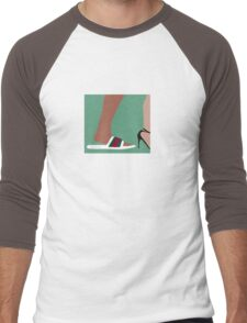 """Future-""""I just fucked your bitch in some gucci flip flops"""" tee Men's Baseball ¾ T-Shirt"""