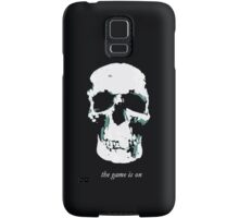 The Game Is On Samsung Galaxy Case/Skin