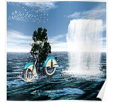 Bikers have more fun Poster