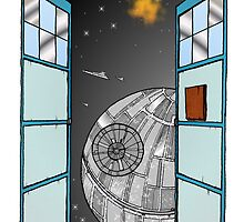 The Doctor meets the Death Star by Skree