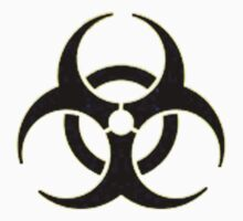 bio hazard symbol by thatstickerguy
