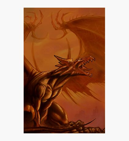 Screaming Dragon by William Kenney Photographic Print