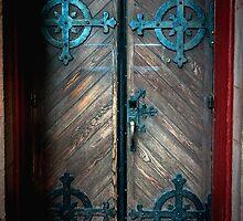 Trinity Church Door by Patito49