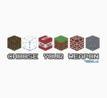 Choose Your Weapon by GeekGamer