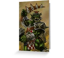 The Ork by William Kenney Greeting Card