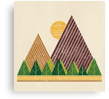 Simple Landscape (light version) Canvas Print