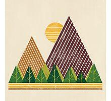 Simple Landscape (light version) Photographic Print