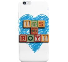 We Love Our Baby Boy iPhone Case/Skin