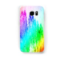 assorted dripped rainbow of colors Samsung Galaxy Case/Skin