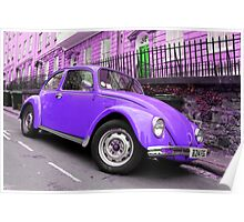 Pop Art Beetle Poster