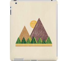 Simple Landscape (light version) iPad Case/Skin
