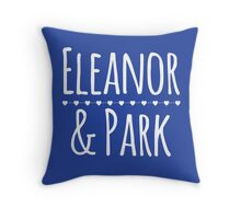 Eleanor & Park by Rainbow Rowell Throw Pillow