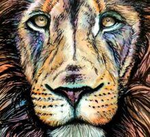 Rainbow Lion Sticker