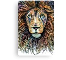 Rainbow Lion Canvas Print