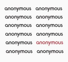 Anonymous by Atomic5