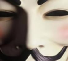 Anonymous V Sticker
