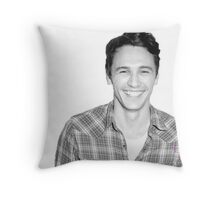 James Franco Throw Pillow