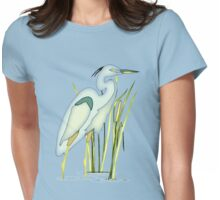 Heron Womens Fitted T-Shirt
