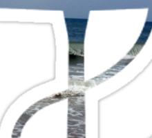 Beach Anchor Sticker