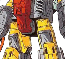 omega supreme  Sticker