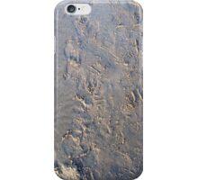 Footprints on sand iPhone Case/Skin