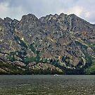 Jenny Lake Under The Face of Mt. St. John by Brenton Cooper