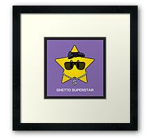 Ghetto Superstar Framed Print