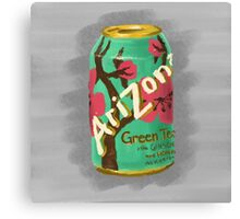 Arizona Green Tea Canvas Print