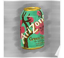 Arizona Green Tea Poster