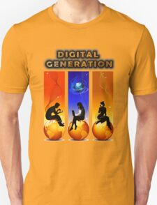 Digital Generation Designers T-Shirts and Stickers Unisex T-Shirt