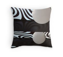 Southbank lightshow Throw Pillow