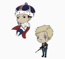 Moriarty and Moran chibis by tobiejade
