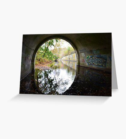 Graffiti under a bridge - Greeting Card