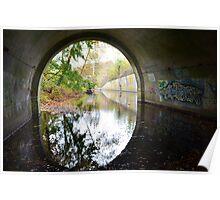 Graffiti under a bridge - Poster