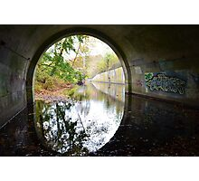 Graffiti under a bridge - Photographic Print