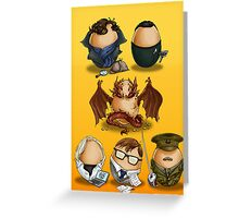 Eggs Benedict (Cumberbatch) Greeting Card