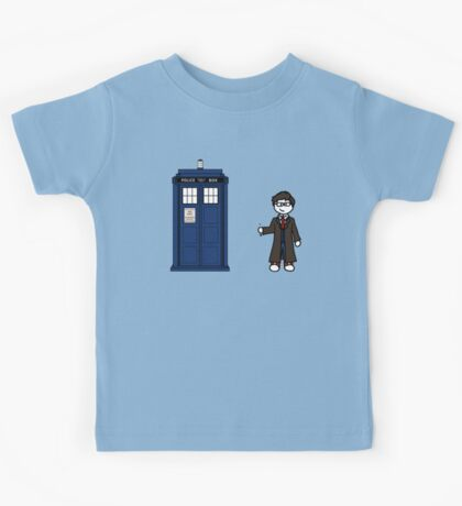 Dr Who (10) car sticker family (also shirts) Kids Tee