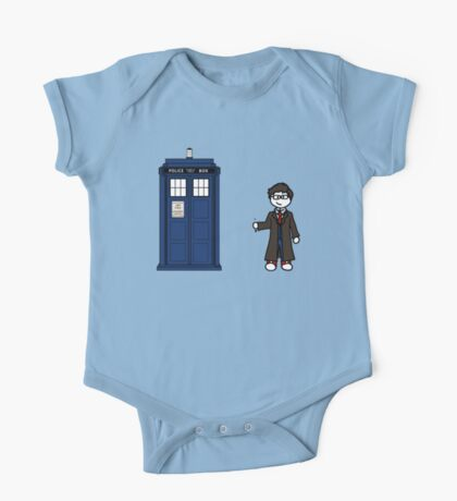 Dr Who (10) car sticker family (also shirts) One Piece - Short Sleeve