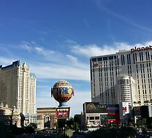 Las Vegas Strip by w00rdup