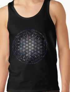 Flower Of Life - Sacred Geometry Star Cluster Tank Top