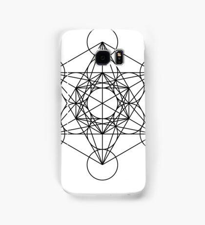 Metatron's Cube - Sacred Geometry Samsung Galaxy Case/Skin