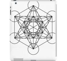 Metatron's Cube - Sacred Geometry iPad Case/Skin