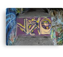 Graffiti As Art - Canvas Print