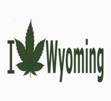 0248 I Love Wyoming  by Ganjastan