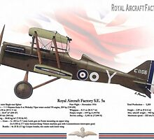 Royal Aircraft Factory SE 5a by A. Hermann