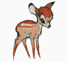 bambi  by lizzielizard