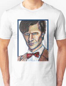 Matt Smith Doctor Who Van Gogh T-Shirt