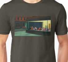 Nighthawks Last Supper Unisex T-Shirt